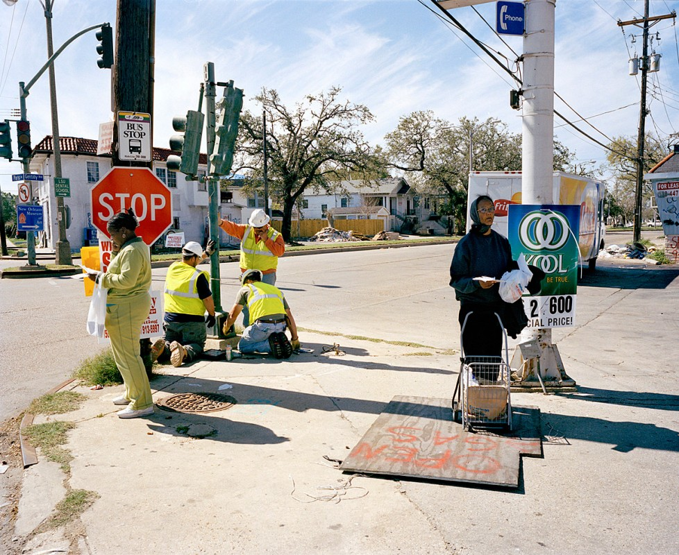 Gentilly Street, New Orleans, Louisiana, March 2006