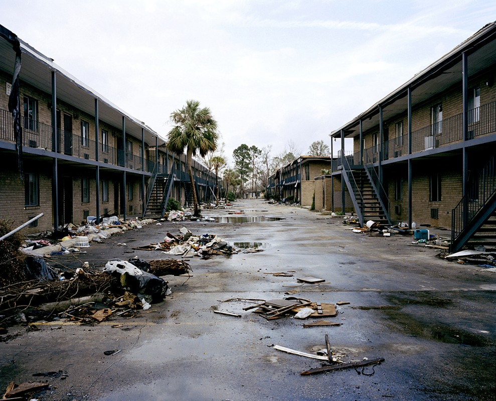 Bern-mas Apartments, Old Gentilly, New Orleans, Louisiana, March 2006