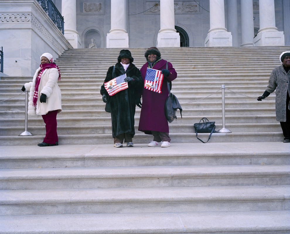January 19th, 2009, Martin Luther King Day, the day before Obama's inauguration, U.S. Capitol, Washington DC