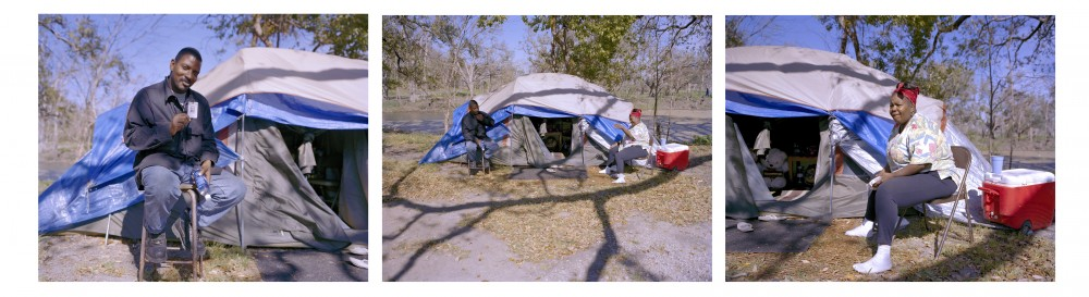 Tent City at City Park, New Orleans, March 2006