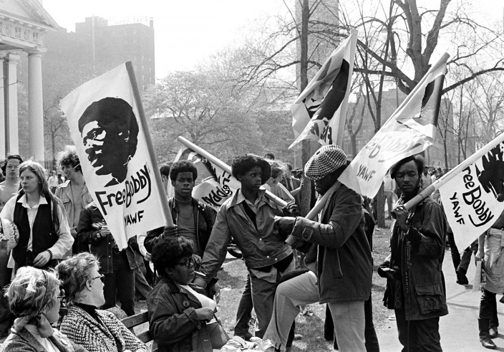 Youth Against War and Fascism, New Haven Green, May Day, 1970