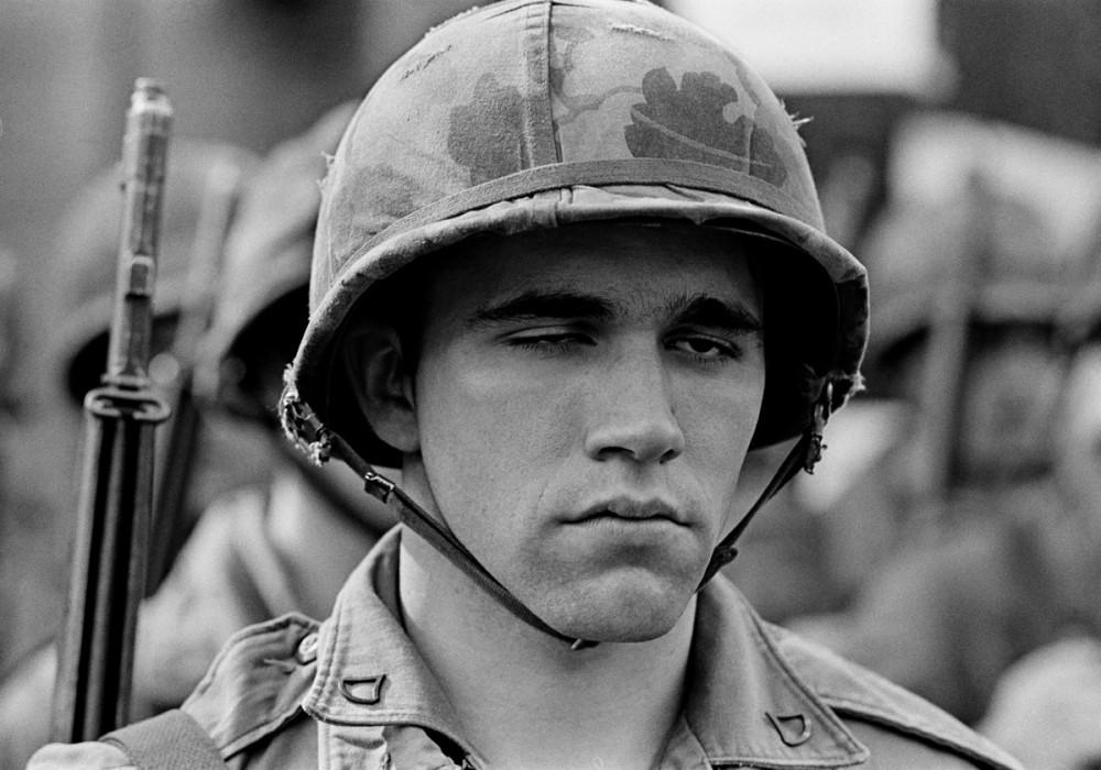 National Guardsman, New Haven, May Day, 1970