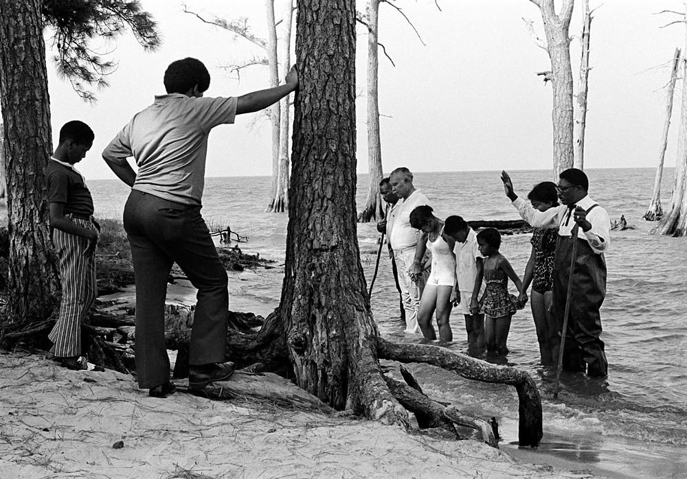Ocean Baptism, Currituck County, July 1972