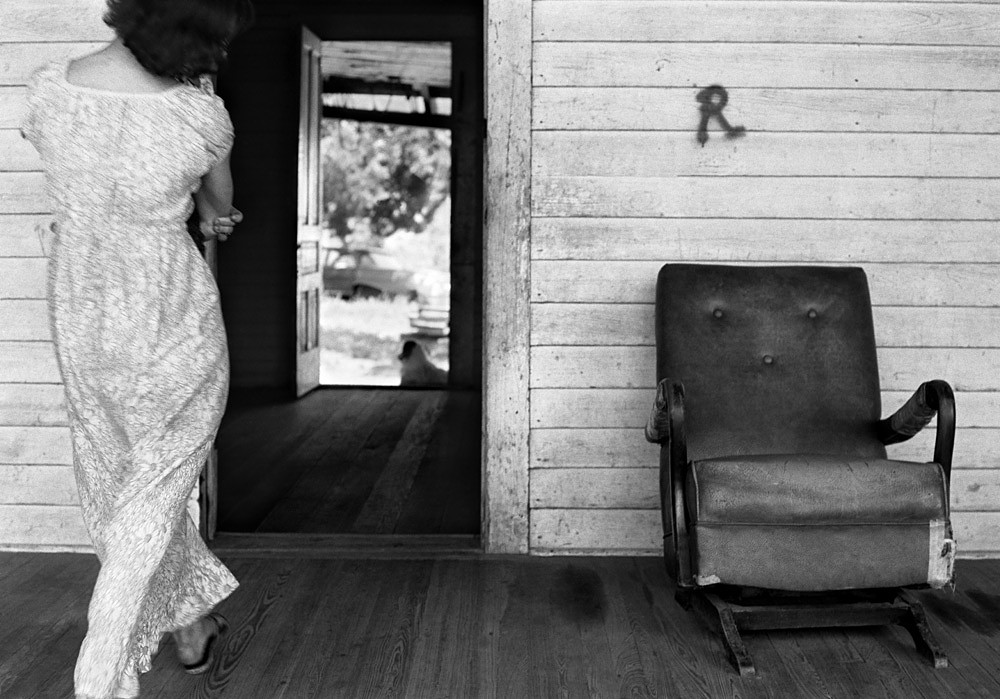 Woman in Long Dress, Western North Carolina, Summer 1972