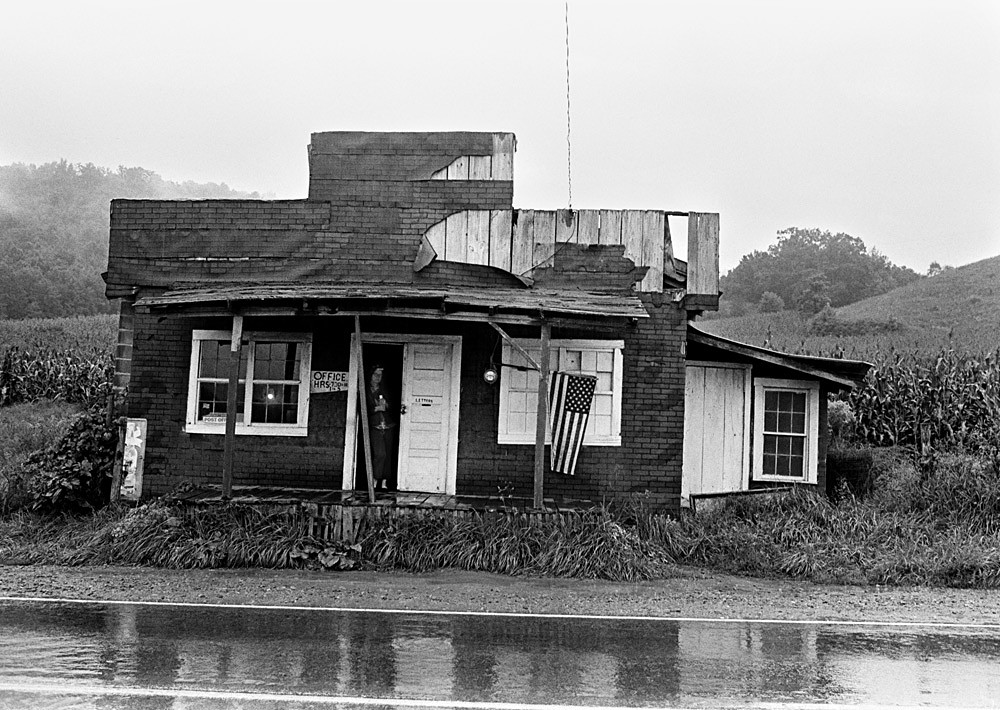 Post Office, Western North Carolina, October 1971