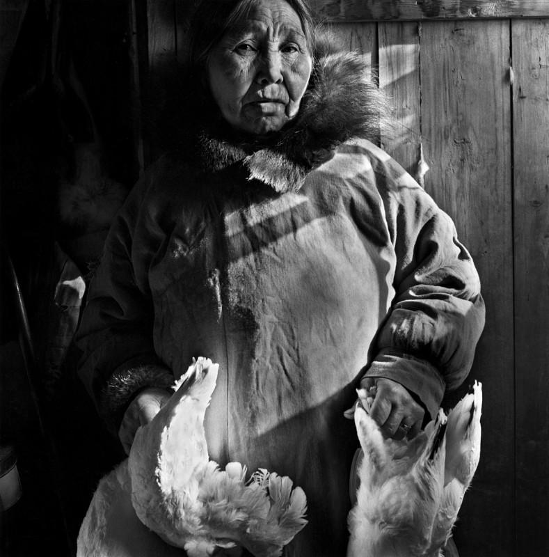 Annie Lee, Shungnak, April 1974