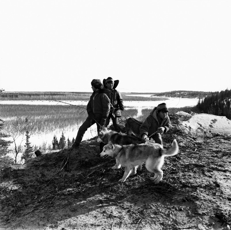Above the Kobuk River, Shungnak, Alaska, October 1973