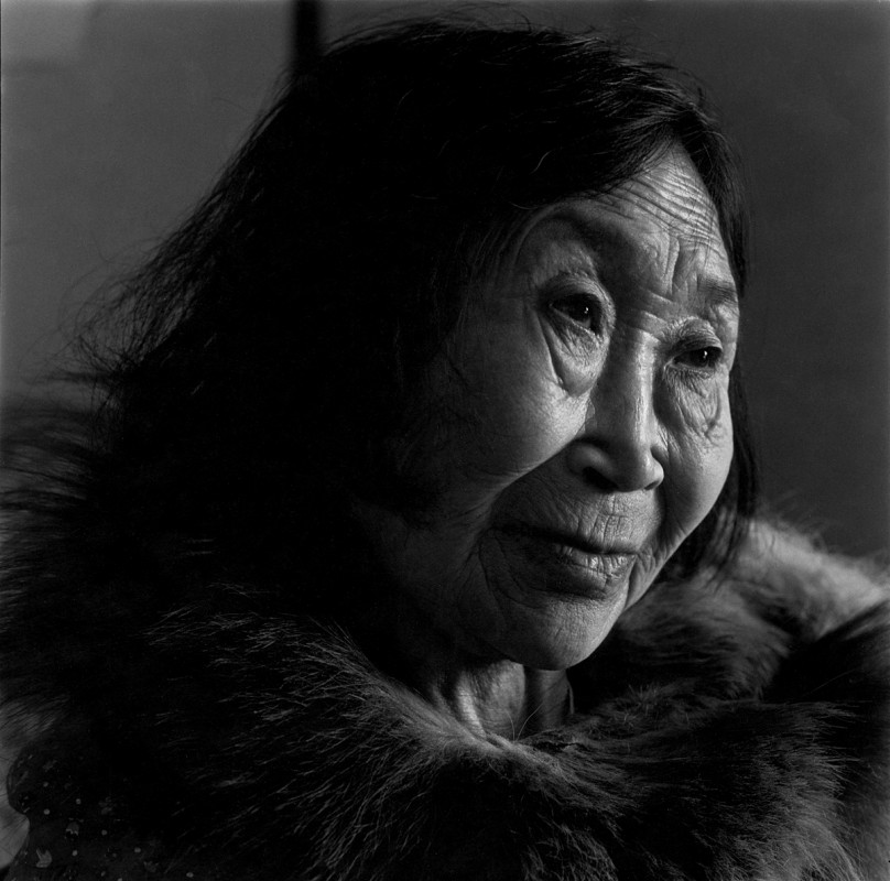 Nina Manegak, Tununak, Alaska, April 1976