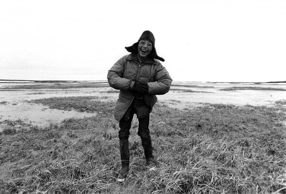 Charlie Tommy, Nelson Island, Alaska, July 1977