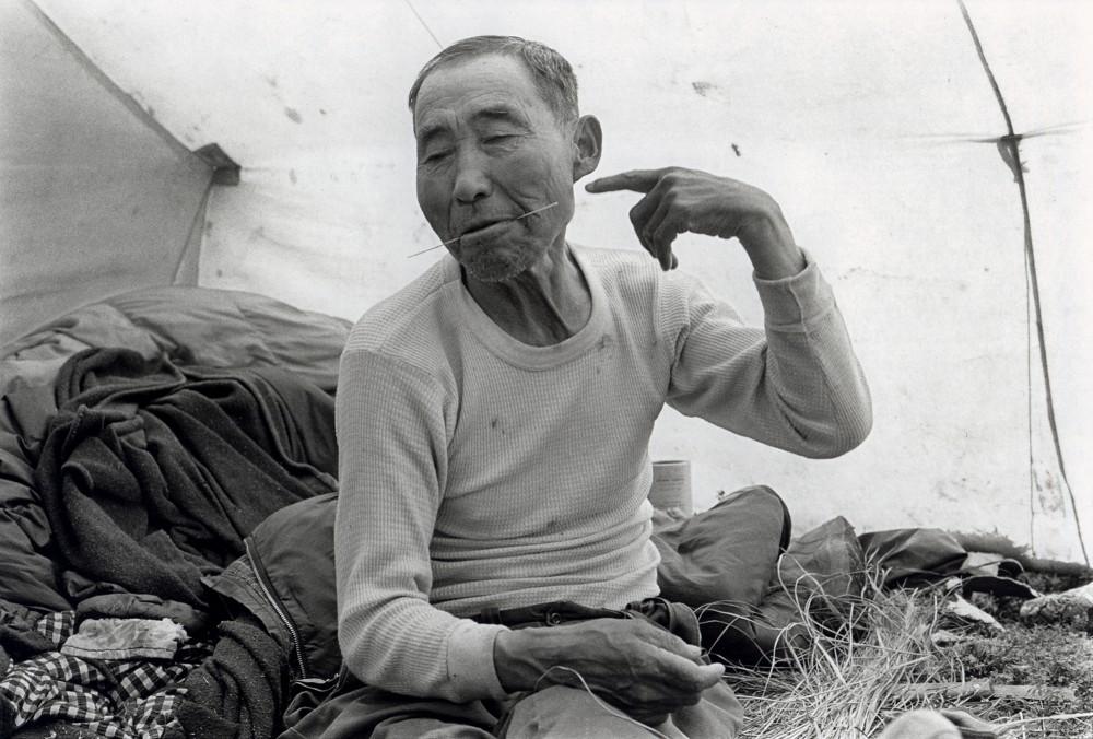 Andrew Tommy, Chilugan, Alaska, July 1977