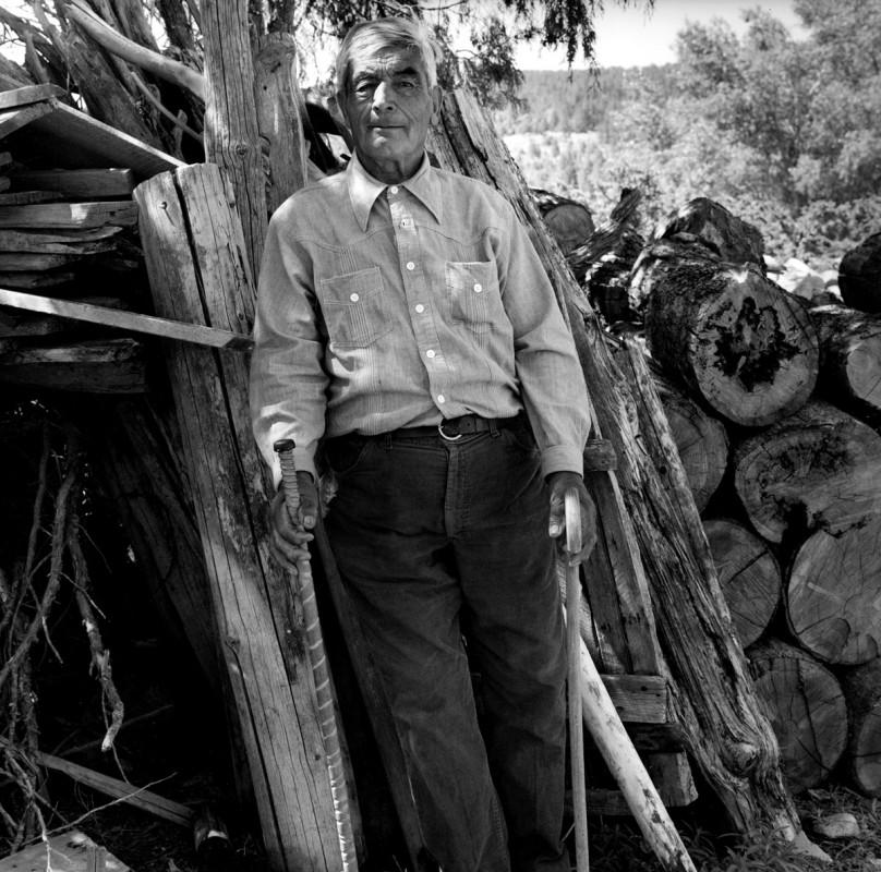 Jacobo Romero, eightieth birthday portrait, El Valle, New Mexico, June 11, 1979