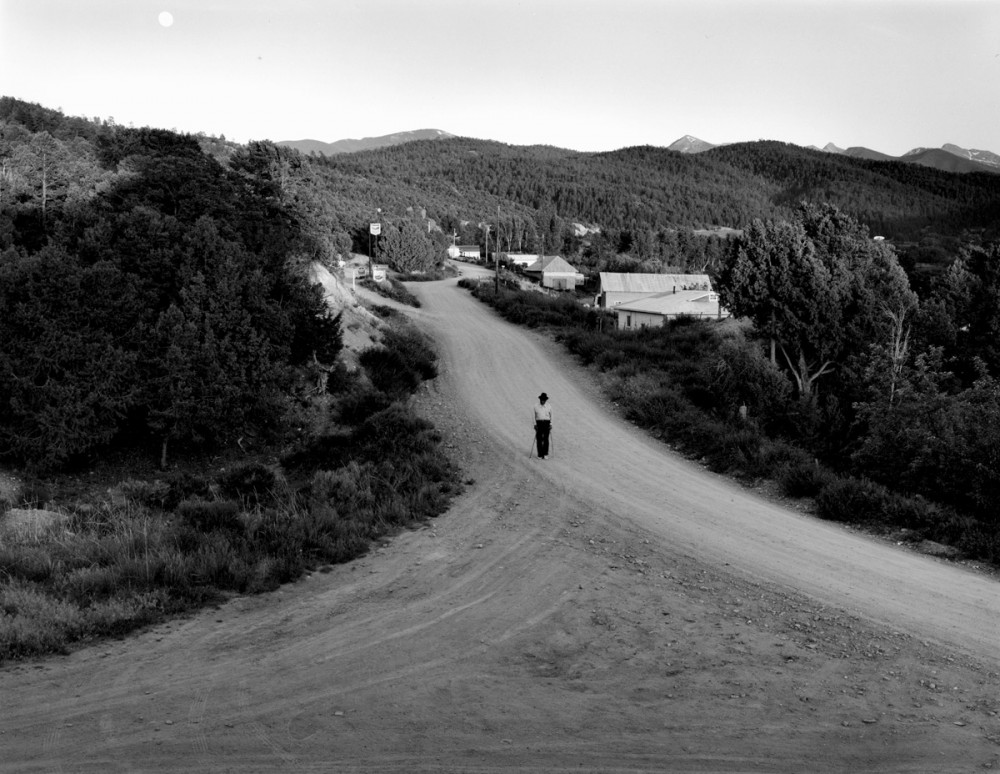Jacobo on the El Valle Road, 1979