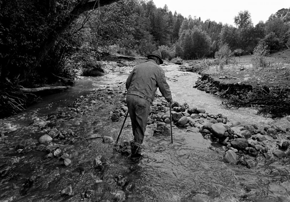 Jacobo Romero in the River of Traps, 1979