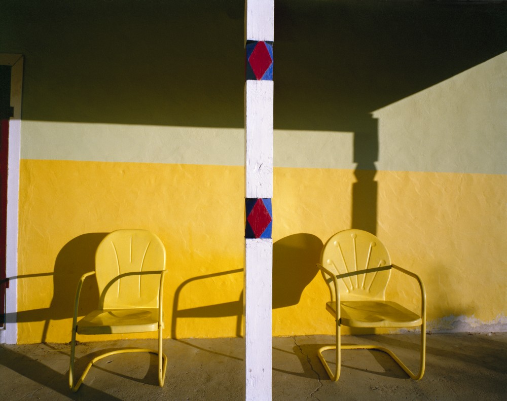 George and Oralia Romero's Front Porch, El Valle, New Mexico, August 1980