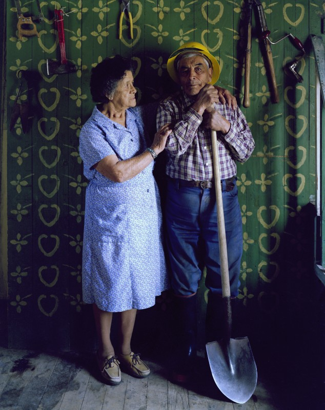 Jacobo and Eloisa Romero, El Valle, New Mexico, March 1982