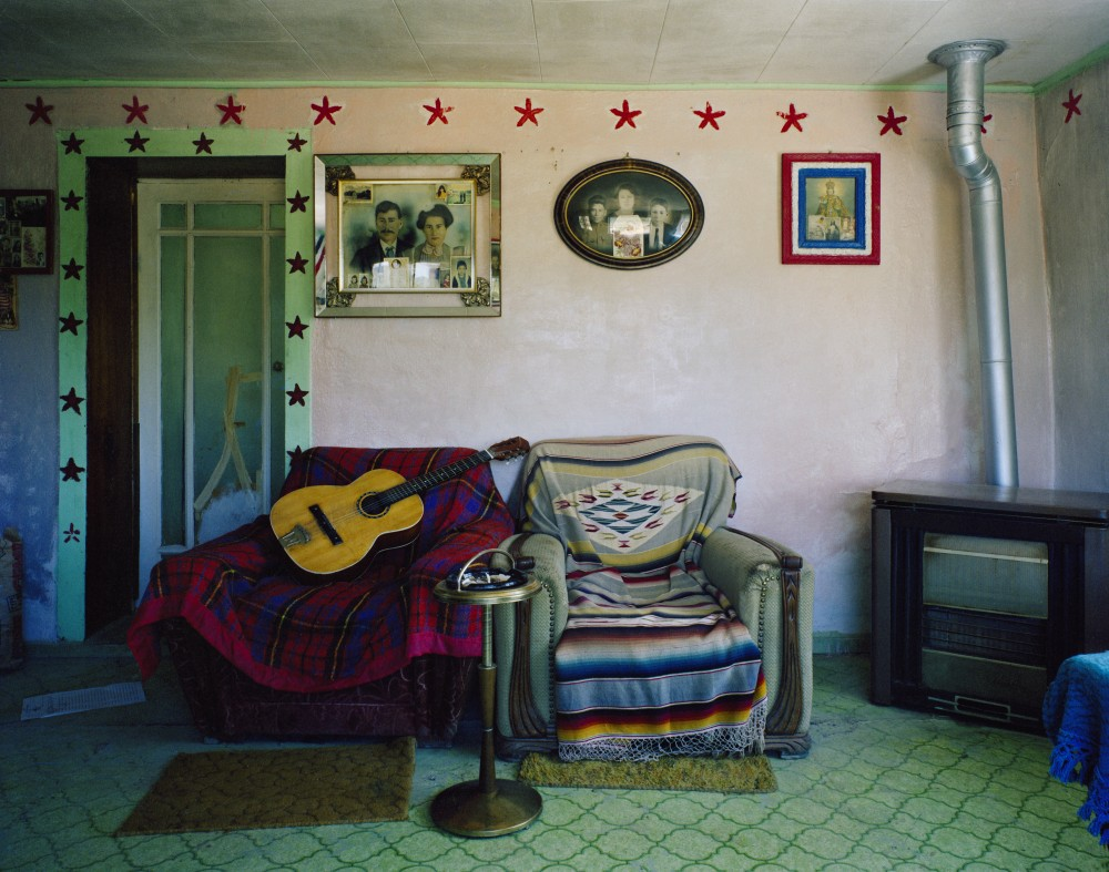Amadeo Sandoval's Living Room, Río Lucío, New Mexico, July 1984