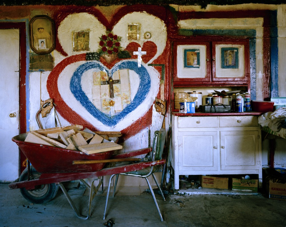 Amadeo Sandoval's Kitchen, Río Lucío, New Mexico, June 1985