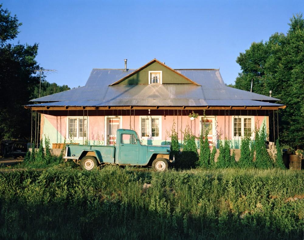Teodoro Griego's house, Llano Largo, New Mexico, January 1982