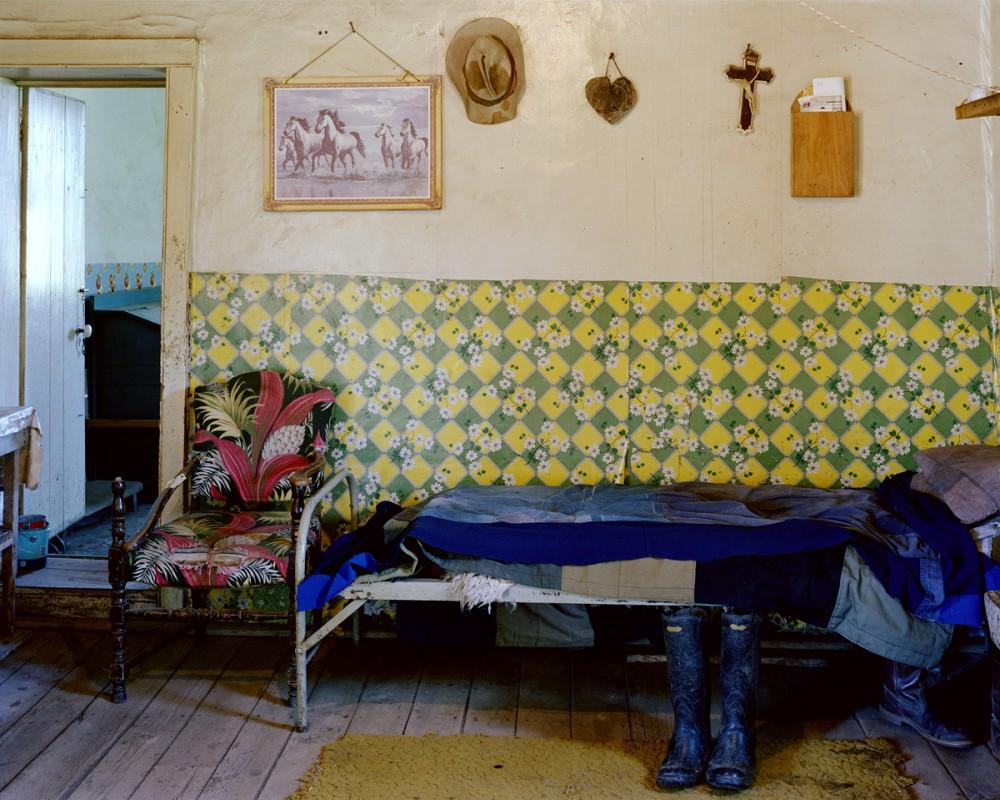 Celledonio Gallegos's house, Llano de San Juan, New Mexico, June 1985
