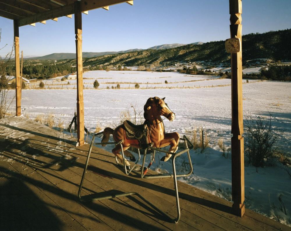 Llano Arriba, El Valle, New Mexico, November 1986