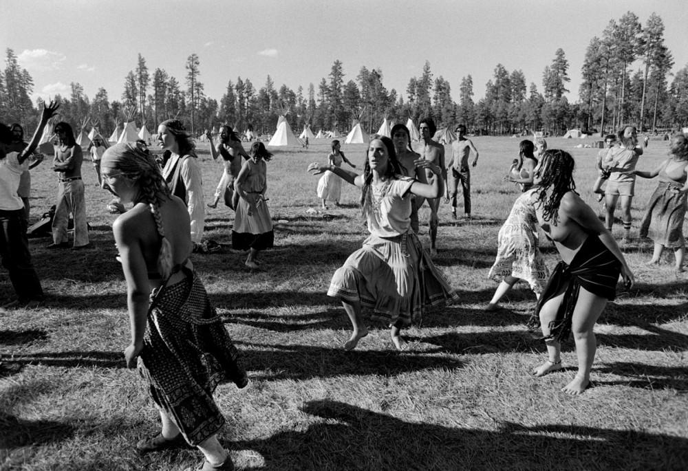 Dancing, The Rainbow Gathering, Alpine Arizona, July 1979