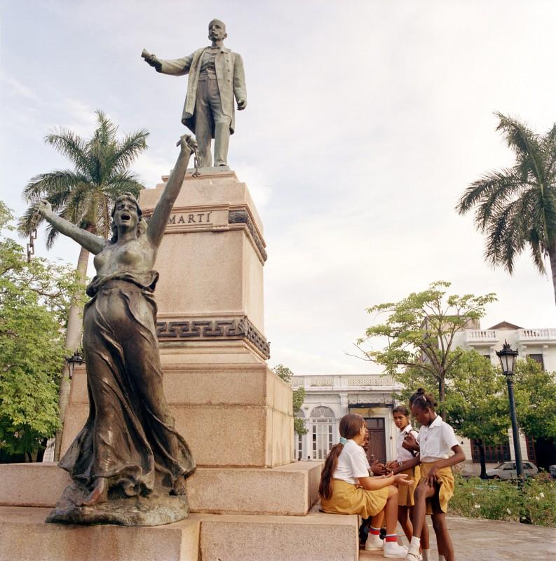 José Martí Square, Matanzas, October 16, 2002
