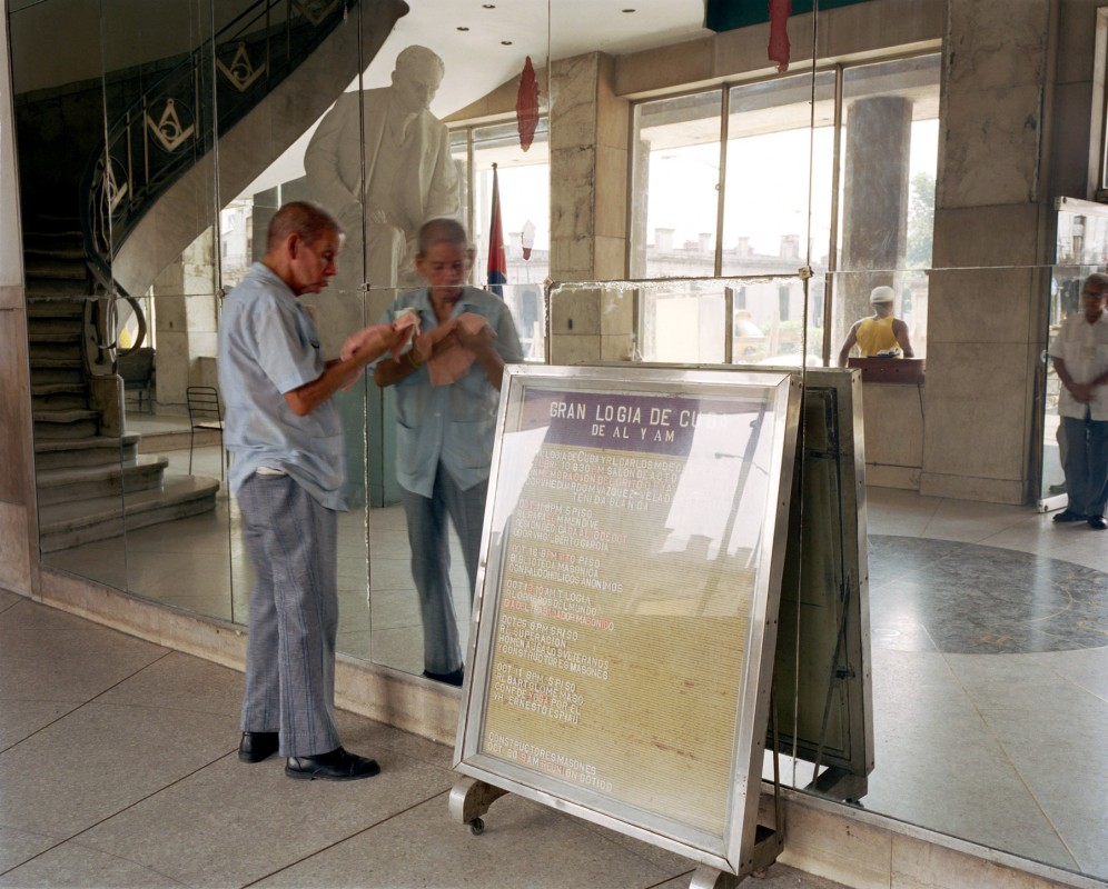 Grand Masonic Lodge, Belas Cohaín and Carlos Tercero, Central Havana, October 11, 2002