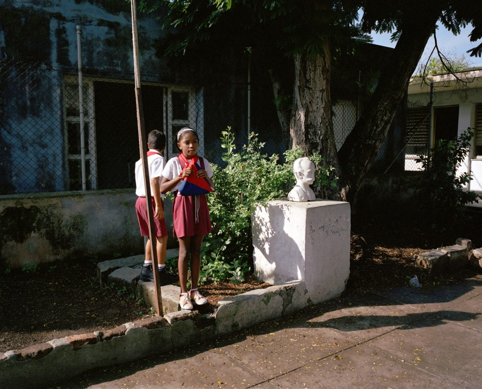 Esuvio Gitteram School, Cuba and 302, Matanzas, October 16, 2002