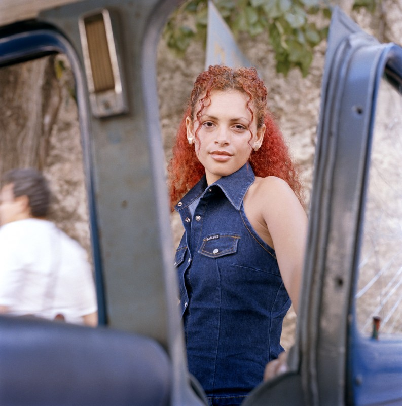 Red-haired woman, October 2003