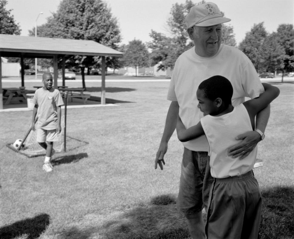 In the park, Hope Meadows,  Rantoul, Illinois 2001