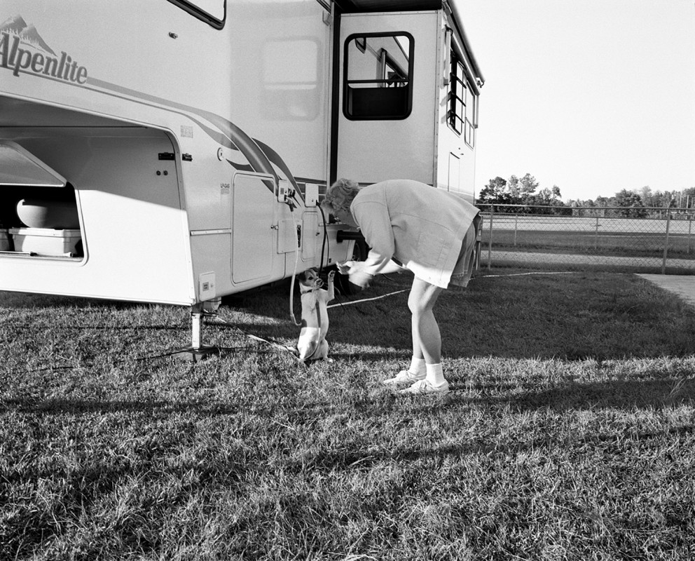 RV Care-A-Vanner, At the campsite, Hartsville, South Carolina, 2002